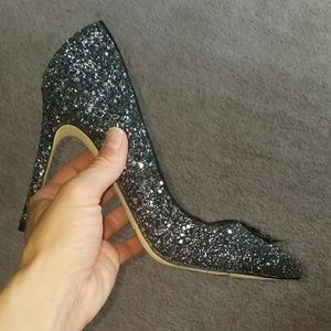Mix no. 6 sparkly heel